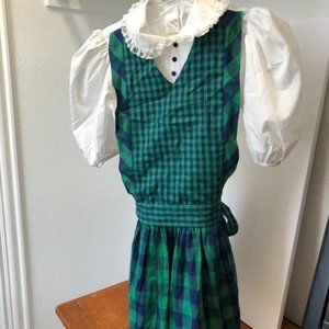 Vintage Ruth of Carolina jumper style dress